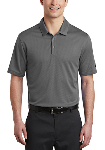 Promotional Nike Dri FIT Hex Textured Polos