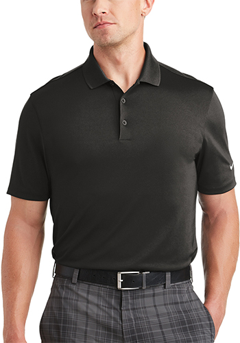 Personalized Nike Dri FIT Players Polos with Flat Knit Collar