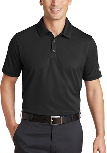 1a38a36b0 Personalized 4.7 oz 100% Polyester. Nike Dri FIT Solid Icon Pique Modern  Fit Polos ...