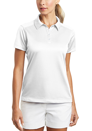 a64f563d Personalized 3.9 oz 100% Polyester. Nike Ladies Dri FIT Pebble Texture Polos  ...
