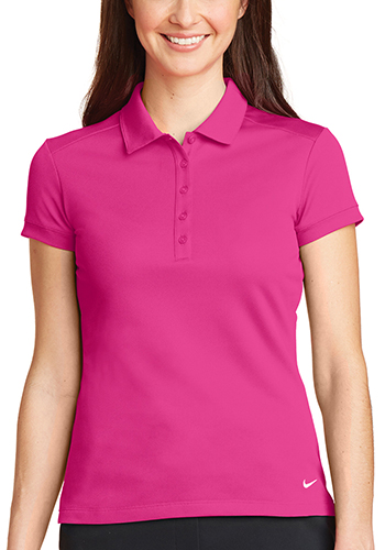 Personalized Nike Ladies Dri FIT Solid Icon Pique Modern Fit Polos