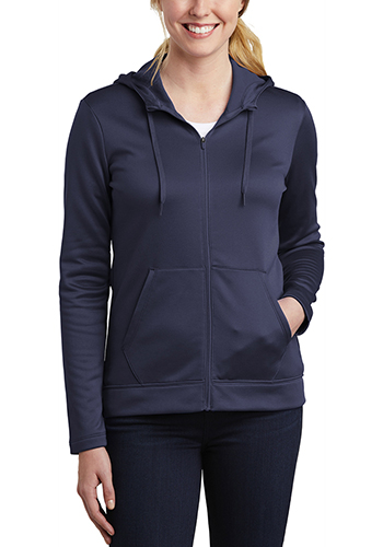 Bulk Nike Ladies Therma FIT Full Zip Fleece Hoodies