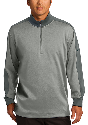 6ad617157c0b Custom Nike Polyester Dri FIT Half Zip Cover Up Pullovers