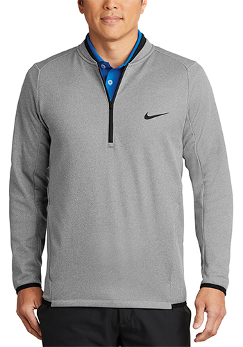 Customized Nike Therma FIT Textured Fleece Half Zip Jackets