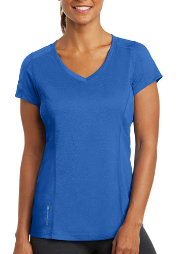 ad5fc2ad5f61 Customized 4 oz 100% Poly Jersey with Stay-Cool Wicking Technology. OGIO  Endurance Ladies Pulse V-Neck Shirts ...