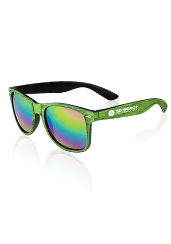 345d81ac0a Promotional Matte Woodgrain Finish Sunglasses