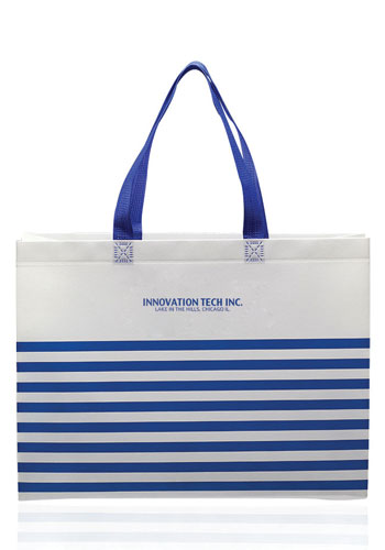 Personalized Seaside Striped Tote Bags  1dfff9f2b6919