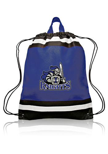 Small Reflective Drawstring Backpacks
