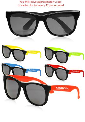 a25e201ec6 Custom Sunglasses in Assorted Colors