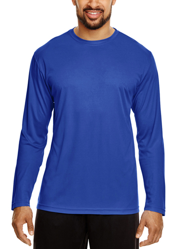Promotional Team 365 Mens Zone Performance Long Sleeve Shirts