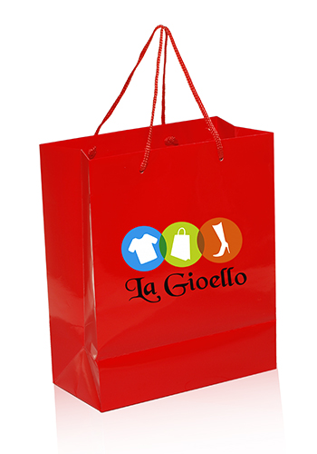 Printed paper bags small quantity