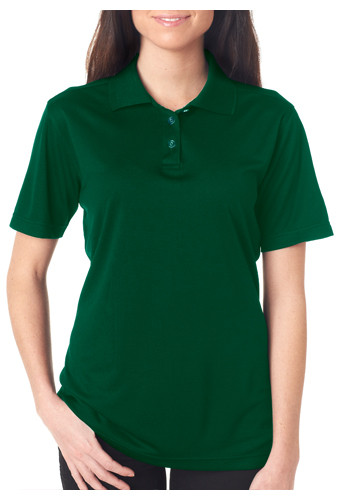 Customized Ladies UltraClub Cool & Dry Mesh Sport Polos