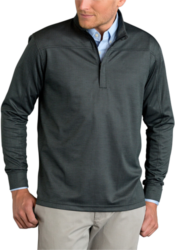 Custom Vansport Pro Herringbone Quarter Zip Pullovers