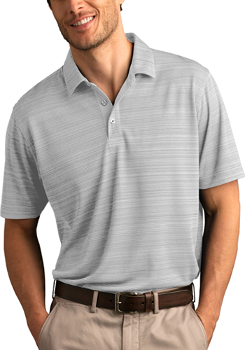 ffbf69d16 Customized 4.75 oz 100% Polyester · Vansport Strata Textured Polos ...