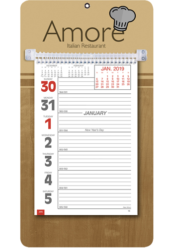 Custom Weekly Memo Triumph Calendars