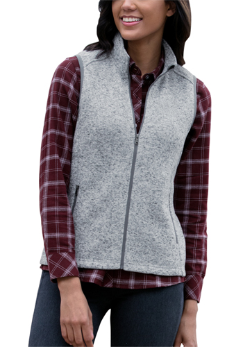 Customized Womens Summit Sweater-Fleece Vests