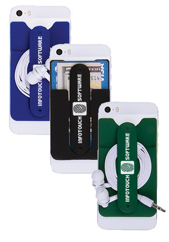 3-in-1 Cell Phone Card Holders and Stand | IL6207