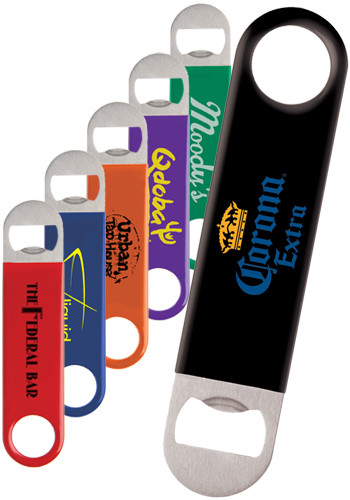 Personalized Color Wrapped Classic Paddle Bottle Openers