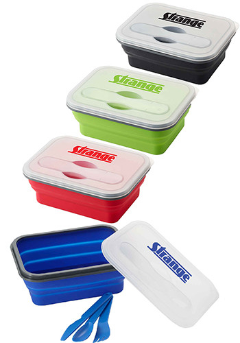 Silicone Collapse-it™ Lunch Containers | EM1336