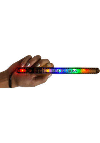 Light Up MultiColor LED Patrol Wands with Necklace | WCLIT632