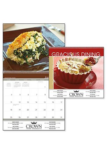 X11270 triumph gracious dining custom printed calendars for Gracious home promo code