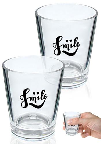Clear Plastic Shot Glasses