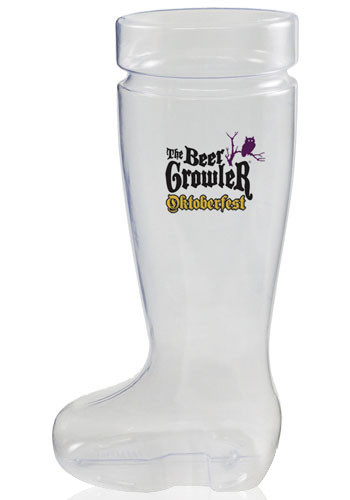 Plastic German Boot Beer Mugs