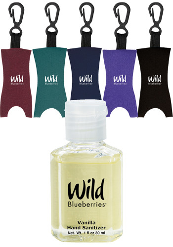Customized 1 oz. Label Scented Hand Sanitizers with Leash