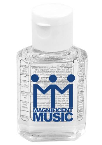 1 oz. Gel Hand Sanitizers in Flip-Top Squeeze Bottle   IV5258S