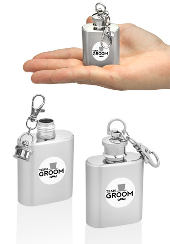 1 oz Keychain Hip Flasks