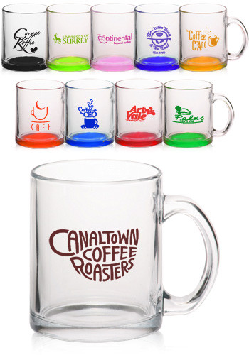 10.4 oz. Glass Coffee Mugs