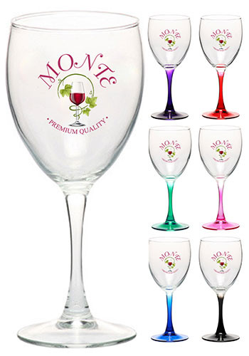 f5ef141f641 Personalized Wine Glasses - Custom Wine Glasses from 76¢ - Low ...