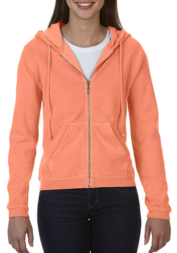 Ladies Zippered Hoodies