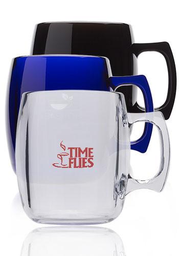 10 oz. Sephardi Translucent Plastic Mugs | PC30