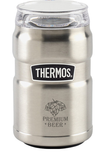 Custom 10 Oz Thermos Stainless King Dual Purpose Can Insulators