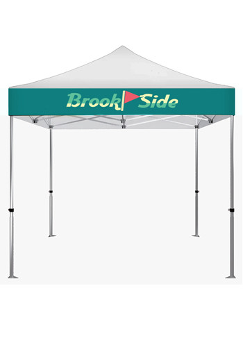 Bulk 10 x 10 Tent with Full Color Canopy