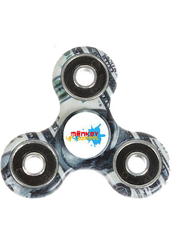 Customized 100 Dollar Spinners
