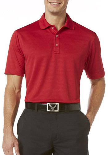 Callaway Textured Performance Polo Shirts | CGM145