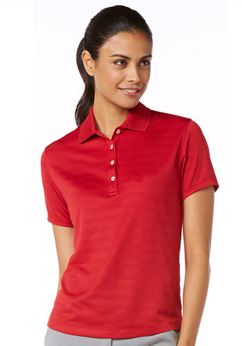 Callaway Ladies Textured Polo Shirts | CGW144