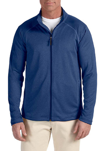 Devon & Jones Men's Stretch Shell Full-Zip Jackets | DG420