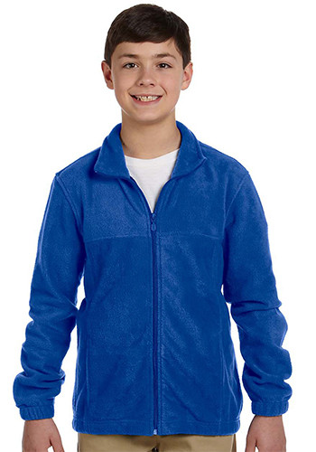 Harriton Youth Full-Zip Fleece Jackets | M990Y