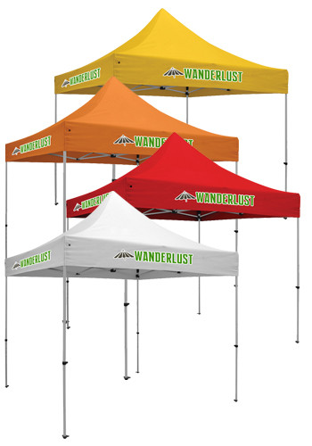 10W X 10H in. 1 Location Full Color Premium Event Tent Kits | SHD240631