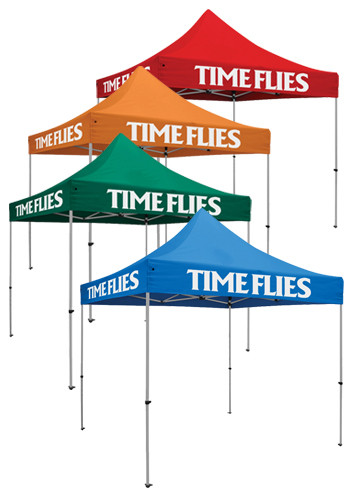 Customized 10W X 10H in. 3 Location Standard Event Tent Kits