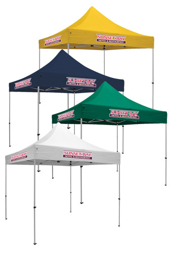 10W X 10H in. 7 Locations Full Color Deluxe Event Tent Kits | SHD240627