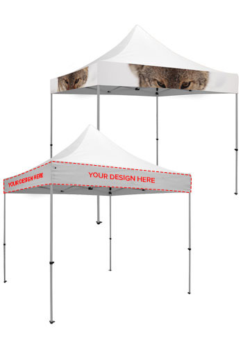 10W X 10H in. Dye-Sublimated Event Tent Kits | SHD240629