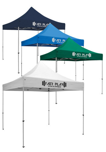 Bulk 10W X 10H in. Standard Event Full Color Thermal Tent Kits