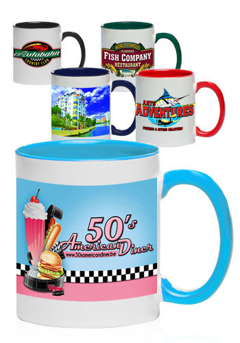 Two-Tone Sublimation Mugs