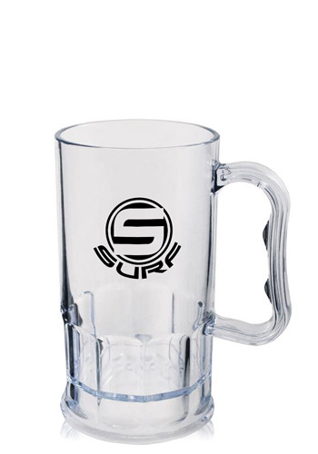 Promotional 11 oz. Clear Plastic Beer Mugs