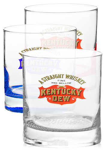 Customized 11 oz. Libbey Presidential Finedge Whiskey Glasses