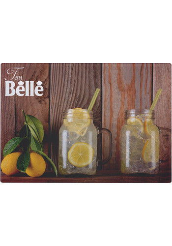 Personalized 12 x 8 Inch Tempered Glass Cutting Boards
